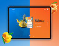 AimePods | Ecommerce Ui / UX website design