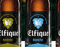 BRANDING & PACKAGING • ELFIQUE BIERE