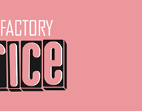 LICORICE PRINTING FACTORY LOGOTYPE AND BRANDBOOK