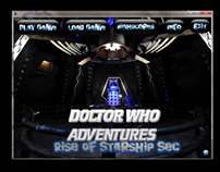 Doctor Who - Rise Of Starship Sec Game