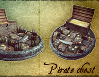 Model 3D: Pirate chest