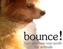 """New ad Campaign for """"bounce""""  Marketing Inc. Non-profit"""