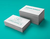 Jasmine Grace Organics Branding