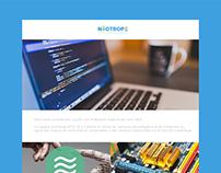 Technology Newsletter Design - Neotrope