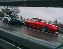 Mazda Rx-7 & Nissan GTR