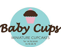 Baby Cups Minature Cupcakes Logo