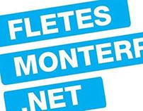 Fletes Monterrey. Net Logo