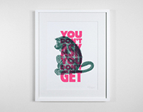 Bash It Out - Riso Prints