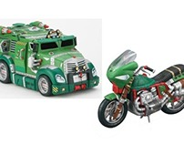 Teenage Mutant Ninja Turtle vehicles