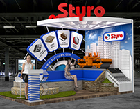 STYRO Exhibition Stand Design at Big5 Show 2017