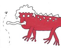 Red Illustrations