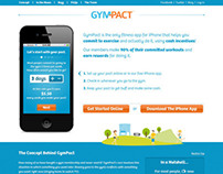 GymPact | Fitness Rewards Website Design