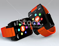 Smart Watch - Stock Image Works (3D)