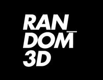 Random 3D