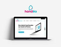 Handéo - Webdesign site vitrine