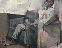 sitting figures