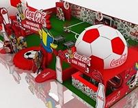 Design of Coca-Cola & Euro 2012 Fan Zone