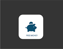Free Money App Wireframe