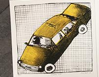 Cars forever! Litographs