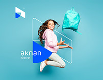 aknan store Identity Building and Branding
