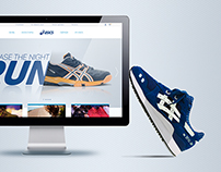 website for Asics
