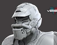Juke alternate helmet - Modern Combat Versus - Gameloft