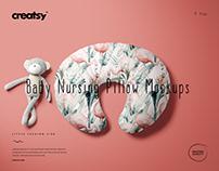 Boppy Nursing Pillow Cover Mockup Set (08LFv.2)