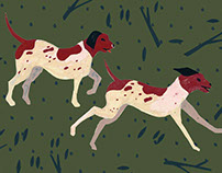 Dogs Pattern Design