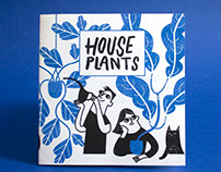 Living With Plants, Spot Illustrations & Zine