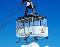 Cortina Ski Resort Poster