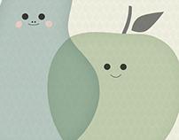 Pear & apple