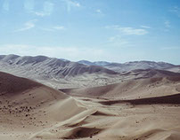 Goby Desert / Panorama landscape