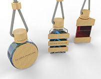 Gloria Perfume - 3D Auto Freshener Design