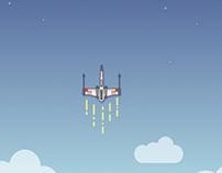 X-Wing Wallpaper