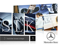 Mercedes Benz Auto Show Interactives