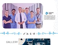 Hospital Website - Ui Design