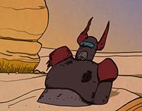 Ultrayó. El robot del desierto.