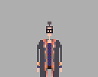 Street 8bit fashion (Pixel Art)