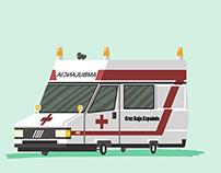 My childhood emergency cars