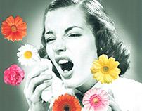 Hay fever struggles