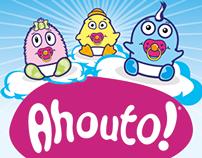 Ahouto! babywear, corporate identity