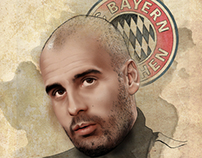 Pep Guardiola Thinking about FC Bayern Munchen
