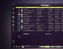 Beatport Pro App / Redesign Concept