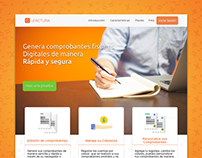 uFACTURA Landing page