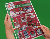 "Flyer ""Ofertas Navideñas"" Tia Market"