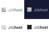 Jobhost logo for job agency