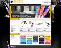 Roberts - web design