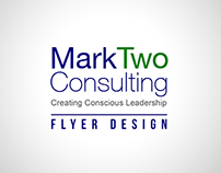 MarkTwo Consulting Flyer Design