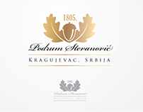 Podrum Stevanovic winery - logo design