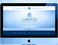 Larentis Wines Website  //  In Progress